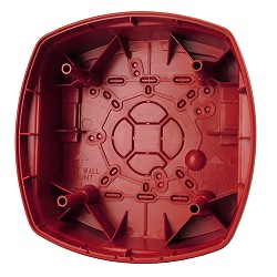 Gentex GBLP-R, Outdoor Speaker Back-Box, Red