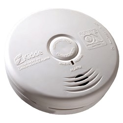 Kidde KN P3010K-CO, DC Photoelectric Smoke/CO Combo Alarm, Intelligent, Ten Year Sealed Lithium Battery