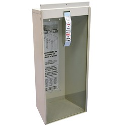 Kidde KN KF9722C, Fire Extinguisher Wall Cabinet, 10 lb. Surface
