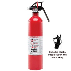 Kidde KN FC10, Auto Fire Extinguisher, 10-B:C, 2.9 lbs., Red