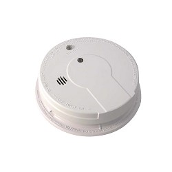 Kidde KN i12080, 120V AC/DC Smoke Alarm with Light, Hush