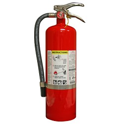 Kidde KN ProPlus10MP, Fire Extinguisher, 4-A, 80-B:C, 10 lbs., Wall Hook, Rechargeable