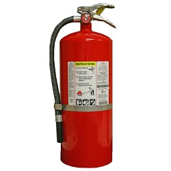 Kidde KN ProPlus20MP, Fire Extinguisher, 6-A, 120-B:C, 20 lbs. Wall Hook, Rechargeable