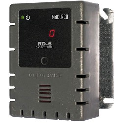 Macurco RD-6, Refrigerant Detector, Controller and Transducer, 12-24VAC or 12-32VDC