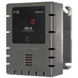 Macurco GD-6, Combustible Gas Detector, Controller and Transducer