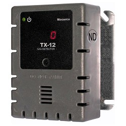 Macurco TX-12-ND, 100-240VAC  Nitrogen Dioxide Detector, Controller and Transducer