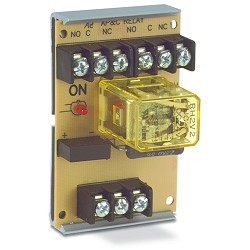 Space Age SSU MR-401/T, Multi-Voltage Series Relay with Test Button, 7-10A, DPDT, 1 Position