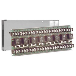 Space Age SSU MR-608/C, Multi-Voltage Series Relay w/Manual Override, 7-10A, SPDT, 8 Position