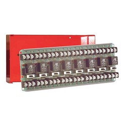 Space Age SSU MR-608/C/R, Multi-Voltage Series Relay w/Manual Override, 7-10A, SPDT, 8 Position