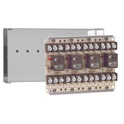 Space Age SSU MR-704/C, Multi-Purpose Series Relay, 10A, SPDT, 4 Position, Grey Enclosure