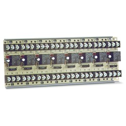 MR-808/T, Multi-Voltage Series Relay, 10A, SPDT, 8 Position, Track-Mount