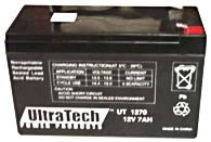 UltraTech 12V, 7.0 AH SLA Battery